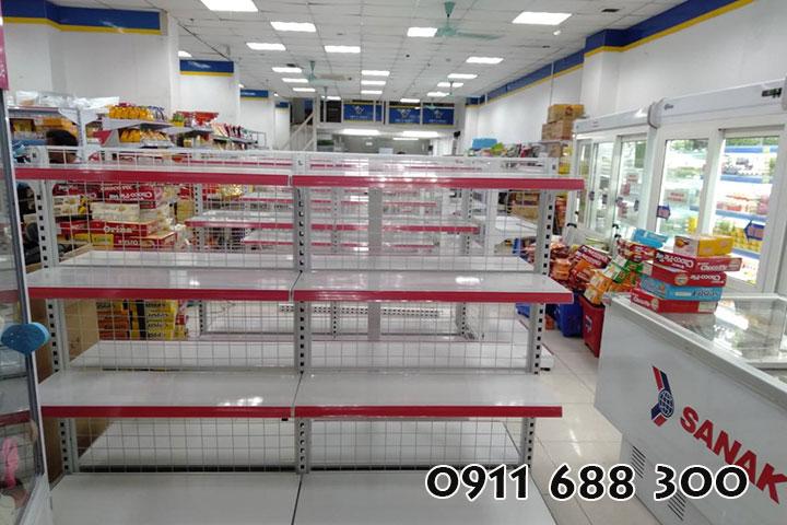 Chọn mua kệ siêu thị phù hợp với không gian